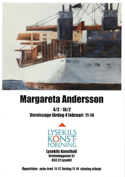 Margareta Andersson affisch