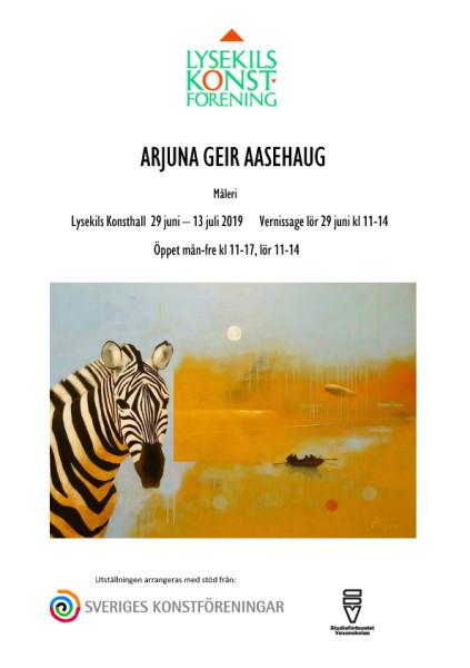 Affisch Arjuna kopiera