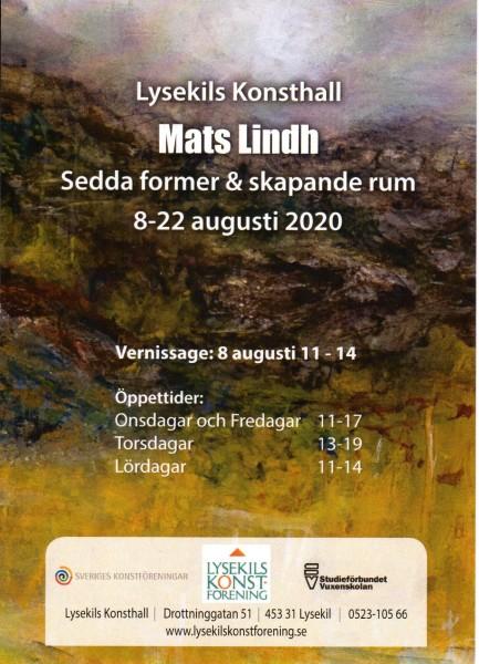 Vernissag kort Mats Lindh
