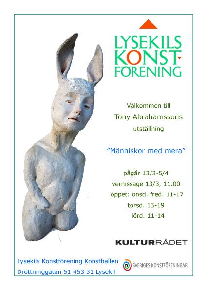 Tony Abrahamsson affisch1