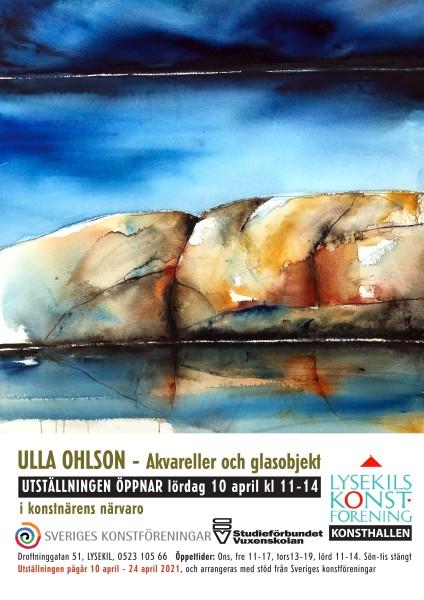 Ulla Ohlson - ny affisch