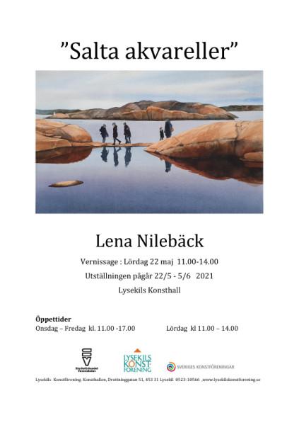 Lena Nilebäck affisch kopiera